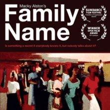 Family Name: la locandina del film