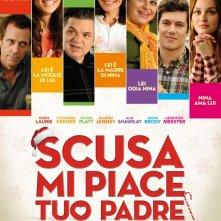 Scusa, mi piace tuo padre: la locandina italiana del film