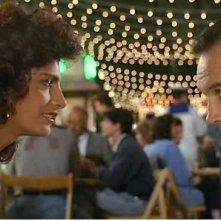 Tiziana Stella e Jim Belushi in DIMENTICARE PALERMO (1990), regia di Francesco Rosi
