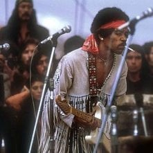 Hendrix 70. Live at Woodstock: Jimi Hendrix in una scena del documentario in uscita a 70 anni dalla sua nascita