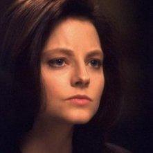 Jodie Foster in una scena de IL SILENZIO DEGLI INNOCENTI (1991)