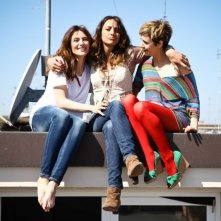 L'amore è imperfetto: Camilla Filippi con Anna Foglietta e con la regista del film Francesca Muci in una foto promozionale