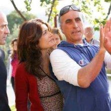 Melina - Con rabbia e con sapere: Caterina Mannello con il regista Demetrio Casile sul set
