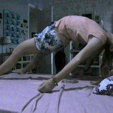 Paranormal Activity 4: Kathryn Newton in una paurosa scena del film