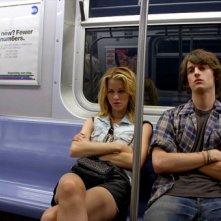 Peter Vack e Kim Shaw in una scena dell'episodio Pecker Necklace della prima stagione della serie In cerca di Jane