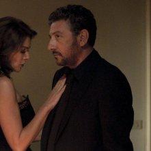 Una famiglia perfetta: Claudia Gerini e Sergio Castellitto in una scena