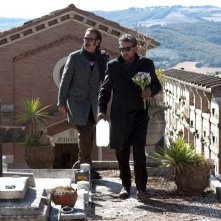 Una famiglia perfetta: Sergio Castellitto e Marco Giallini in una scena del film