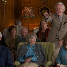 Quartet: Billy Connolly, Pauline Collins e Tom Courtenay in una scena del film