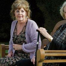 Quartet: Maggie Smith e Pauline Collins in una scena del film