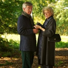 Quartet: Maggie Smith e Tom Courtenay in una scena del film