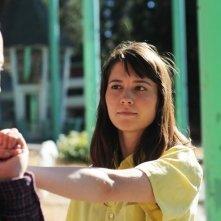 Smashed: i protagonisti Mary Elizabeth Winstead e Aaron Paul in una scena