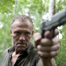 The Walking Dead: Michael Rooker è Merle Dixon nell'episodio La preda