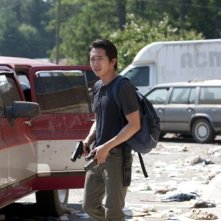 The Walking Dead: Steven Yeun nell'episodio La preda