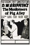 The Musketeers of Pig Alley: la locandina del film
