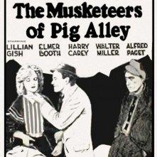 The Musketeers of Pig Alley: la locandina del film