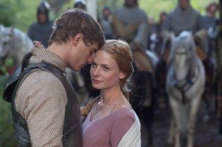 The White Queen: Rebecca Ferguson in una scena della serie