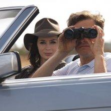 Arthur Newman: Emily Blunt insieme a Colin Firth in una scena del film