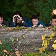 Chris Hemsworth, Josh Hutcherson, Josh Peck e Connor Cruise in Red Dawn