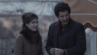 Itaker: Francesco Scianna insieme a Monica Birladeanu in una scena del film