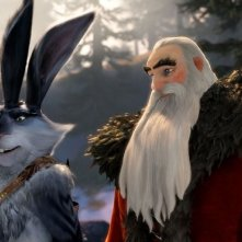 Le 5 leggende: Santa Claus accanto al Calmoniglio