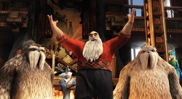 Le 5 Leggende Santa Claus In Una Scena Della Pellicola D Animazione 258571