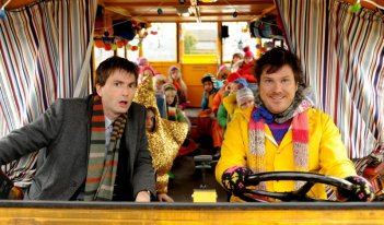 David Tennant in una spericolata sequenza di Nativity 2
