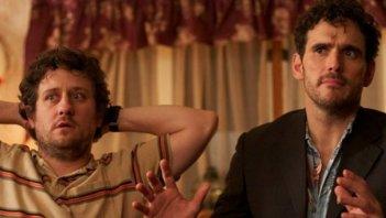 Christopher Fitzgerald e Matt Dillon in una scena di Imogene