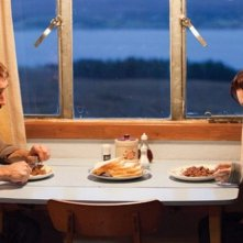 Shell: Chloe Pirrie e Joseph Mawle in una scena