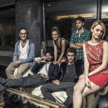 The Last Days: una foto promozionale del cast della web series