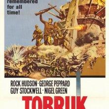 Tobruk: la locandina del film