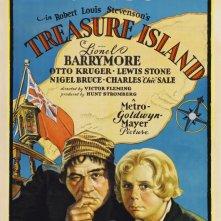 L'isola del tesoro: la locandina del film
