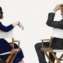 Lindsay Lohan e Grant Bowler sono Liz Taylor e Richard Burton in una immagine promo di Liz and Dick