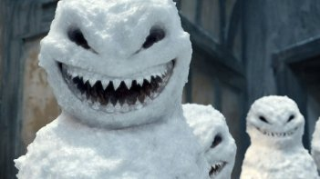 Doctor Who: i pupazzi di neve dello speciale natalizio The Snowmen