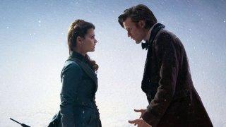 Doctor Who: Matt Smith e la nuova companion Jenna-Louise Coleman nello speciale natalizio The Snowmen