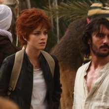 L'isola: Alexandra Dinu e Marco Foschi in una scena della fiction Rai
