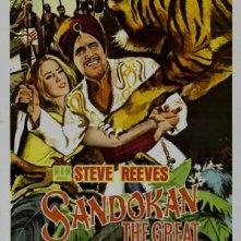 Sandokan, la tigre di Mompracem: la locandina del film