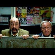 Kad Merad con Olivier Baroux, il duo comico della commedia F.B.I.
