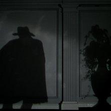 L'ombra di Claude Rains nel film Il Fantasma dell'Opera (1943)