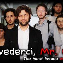 Arrivederci, Mr. Coat: un poster con sviluppo orizzontale della web series