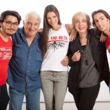 Bagnini: una foto promozionale del cast della web series