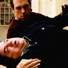 Scusa, Mi Piace Tuo Padre: Oliver Platt e Hugh Laurie in una buffa scena del film