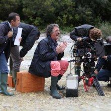Colpi di fulmine: il regista Neri Parenti sul set