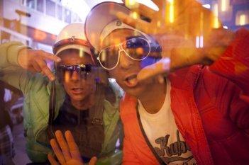 I 2 soliti idioti: Fabrizio Biggio e Francesco Mandelli in un'immagine del film
