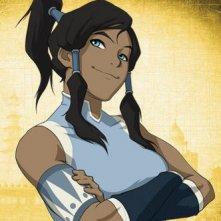 Il personaggio di Korra, della prima stagione della serie animata La leggenda di Korra