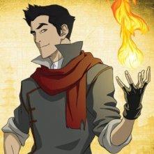 Il personaggio di Mako, della prima stagione della serie animata La leggenda di Korra