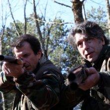 L'innocenza di Clara: Alberto Gimignani e Luca Lionello in una scena di caccia