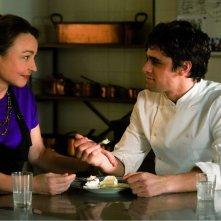 Les Saveurs du Palais: Catherine Frot e Arthur Dupont parlano in una scena del film