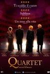 Quartet: la locandina italiana del film