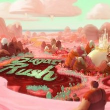 Ralph Spaccatutto: il mondo di Sugar Rush in una coloratissima scena
