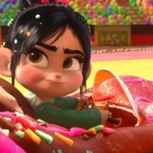 Ralph Spaccatutto: Vanellope in una coloratissima immagine del film